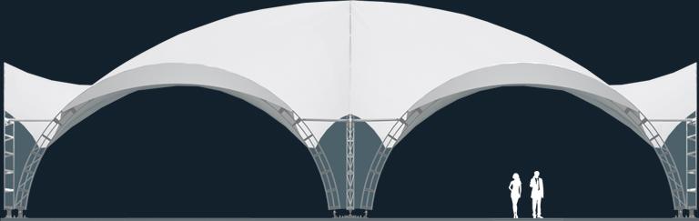 Модель ArcoTenso Grand 600-1500м2