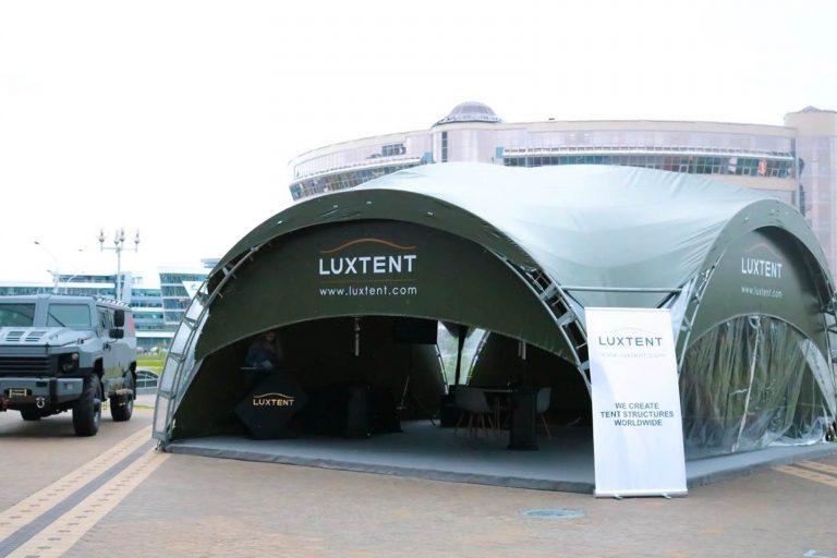 Конcтрукция ArcoTenso Individual для Luxtent