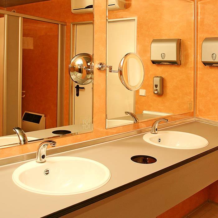 Туалетный модуль для тентовых конструкций