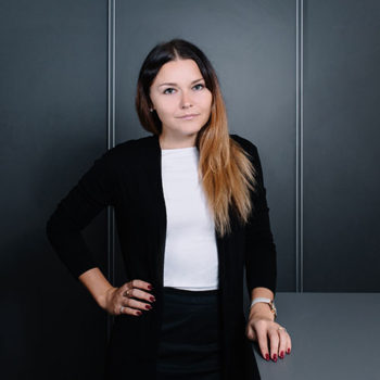 Екатерина Супонина, Менеджер по продажам